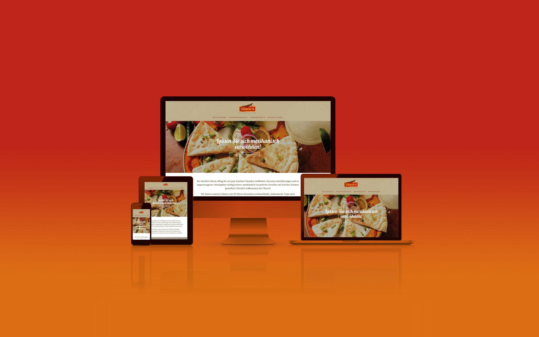 FROG KING realisiert Website für einen Bitburger Mexikaner