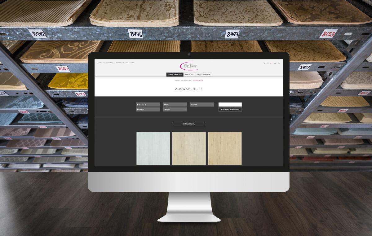 Desima Homepage